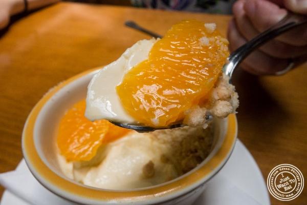 clémentine pot de crème at Montmartre in New York, NY