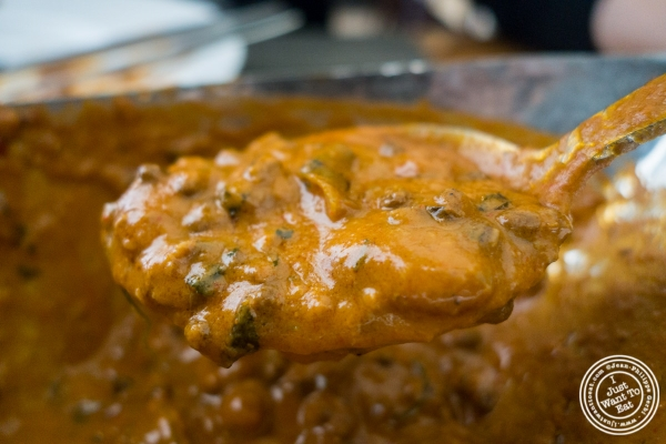 Dal Bhatti at Bhatti Indian Grill in New York, NY