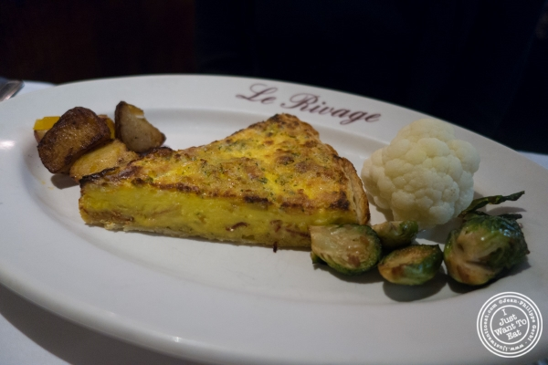 quiche Lorraine at Le Rivage in New York, NY