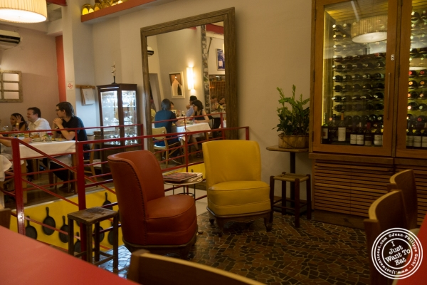 Dining room at Tordesilhas in Sao Paulo, Brazil