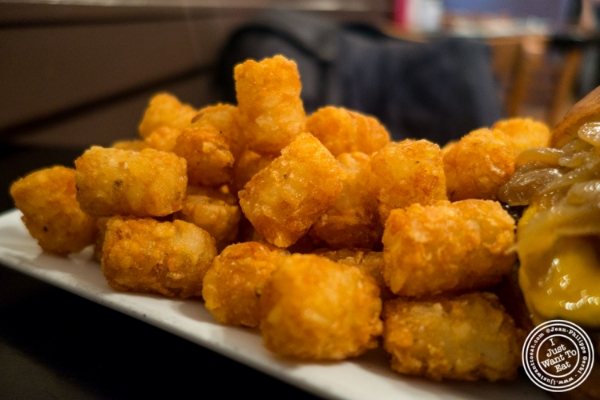 Tater tots at The Burger Bistro in the Upper East Side, New York, NY