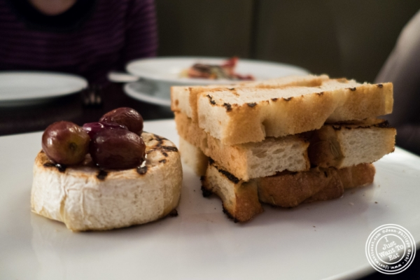 Grilled camembert atEatery, Theater District, NYC, New York
