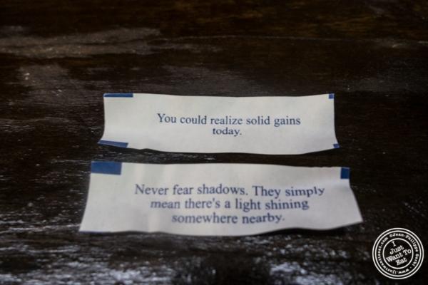 Fortunes atLo Fatt Chow, Healthy Chinese Cuisine, in Hoboken, NJ