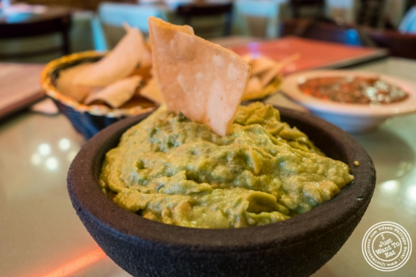 Guacamole at Baja, Tex-Mex in Hoboken, NJ