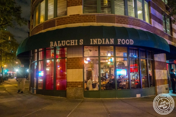 Baluchi's, Indian restaurant in Tribeca, NYC, New York