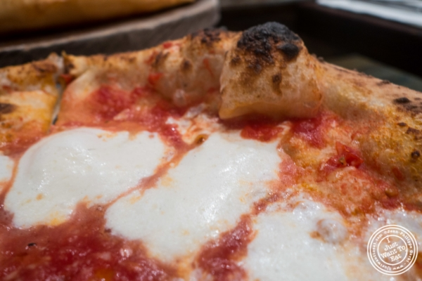 Margherita pizza at Don Antonio by Starita in NYC, New York