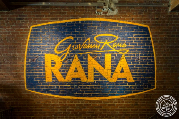 Chelsea Market: Giovanni Rana, Italian restaurant in NYC, New York