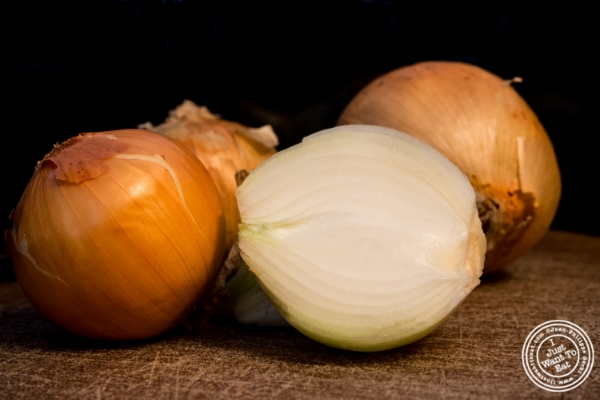 Onions for White Bean Soup