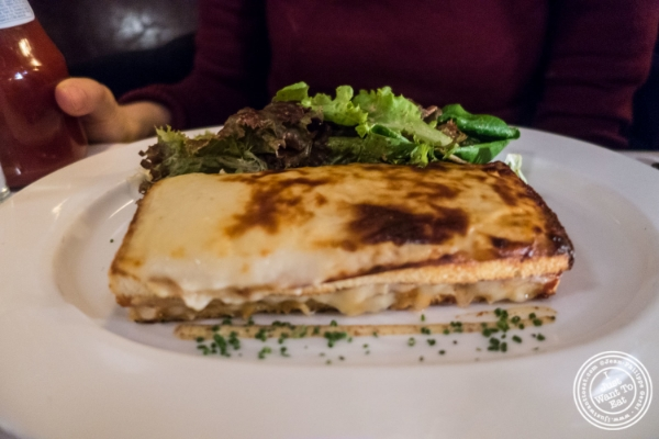 Croque Monsieur at The Odeon in TriBeCa, New York, NY