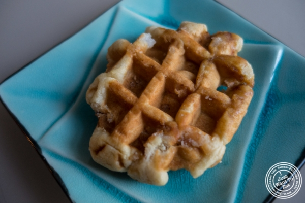 Belgian waffle atWoops Macarons and Cookies in NYC, New York