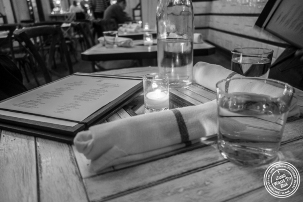Table at Telepan Local in TriBeCa, New York, NY