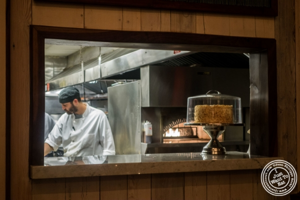Kitchen at Telepan Local in TriBeCa, New York, NY