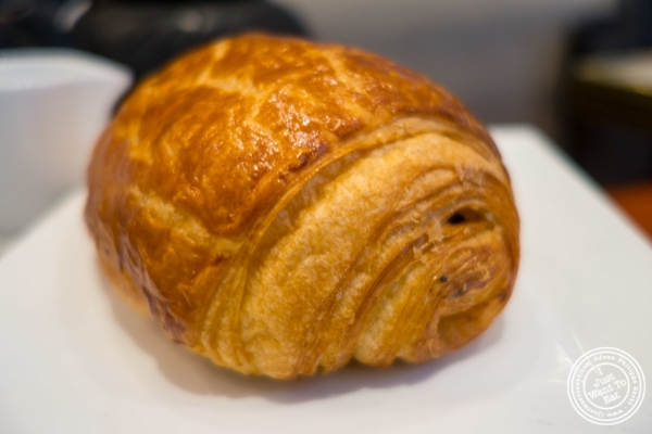 Pain au chocolat at Maison Kayser in New York, NY