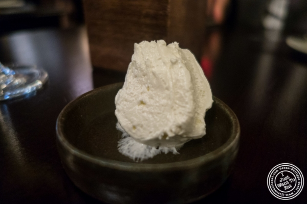 Yogurt butter at Betony in New York, NY