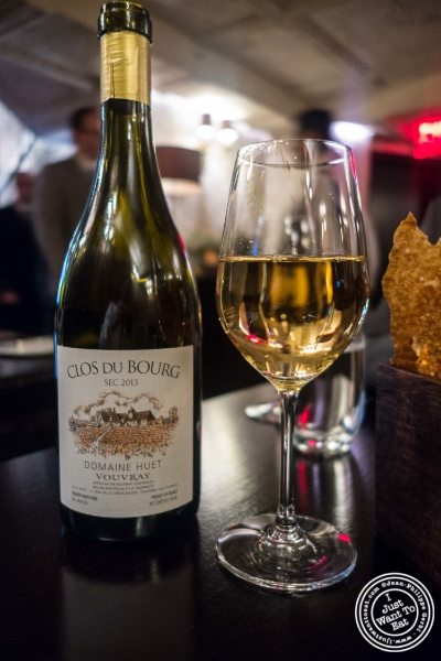 Vouvray from France at Betony in New York, NY