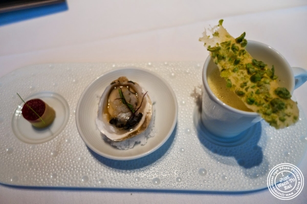 amuse bouche at Le Bernardin in New York, NY