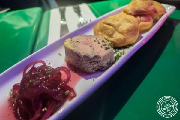 Foie gras au torchonatLe Village in New York, NY