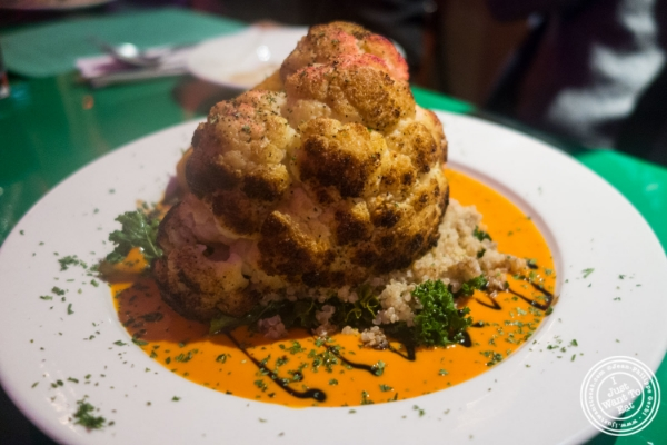 Roasted cauliflower at at  Le Village in New York, NY