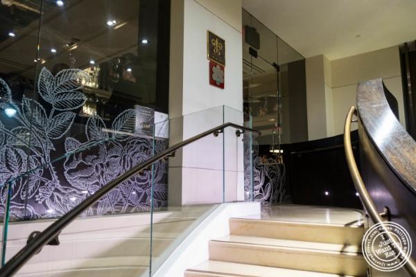 Staircase toAi Fiori in New York, NY