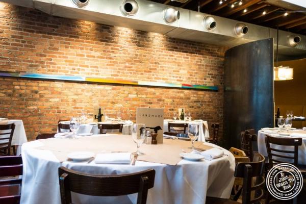 Dining room atLandmarc in Tribeca, New York, NY