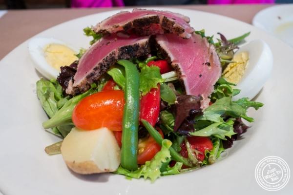 Salade Niçoise at  Landmarc in Tribeca, New York, NY