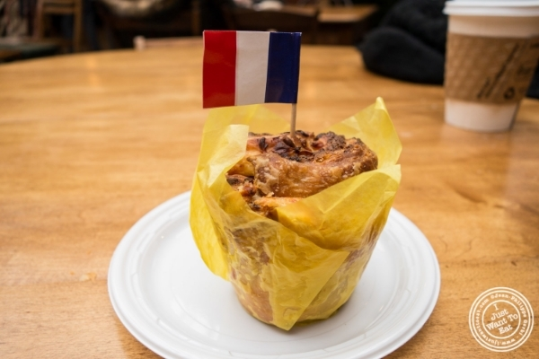French Bruffin at Bruffin Café at  The Gansevoort Market in New York, NY