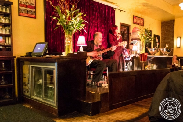Live music at  Cercle Rouge, French Bistro in Tribeca, New York, NY