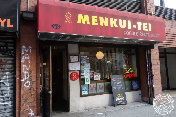 Menkui-Tei Ramen Shop in The East Village, New York, NY