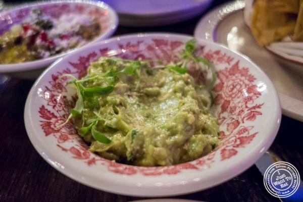 Guacamole atAñejo in Tribeca, NYC, New York