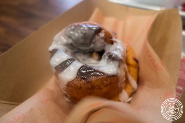 Cinnamon roll atBaked, Bakery in TriBeca, New York, NY