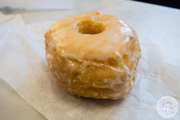 The croissant donut atThe Donut Pub in NYC, NY