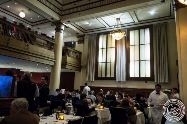 Dining room atBenjamin Steakhouse in New York, NY