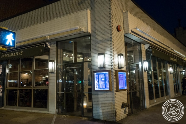 Rosemary's, Italian Restaurant in NYC, New York