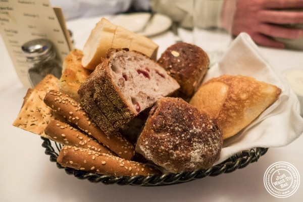 bread basket at Bobby Van's Grill in New York, NY