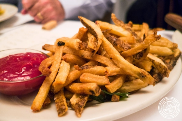 French fries at Bobby Van's Grill in New York, NY