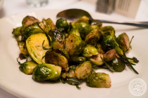 Brussels sprouts at Bobby Van's Grill in New York, NY