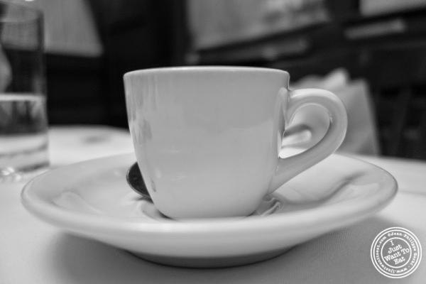 espresso at Bobby Van's Grill in New York, NY