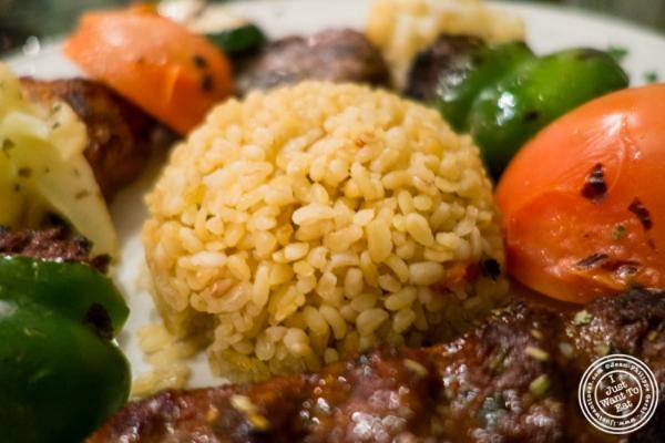 Bulgur pilaf atTurkish Cuisine in Hell's Kitchen, NYC, New York
