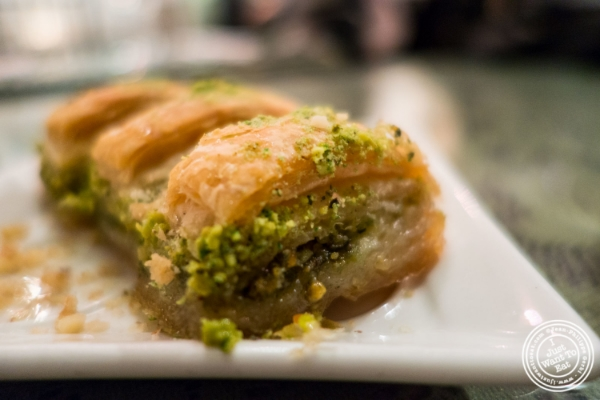 Baklava atTurkish Cuisine in Hell's Kitchen, NYC, New York