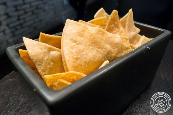 tortilla chips at Empellon Taqueria in New York, NY