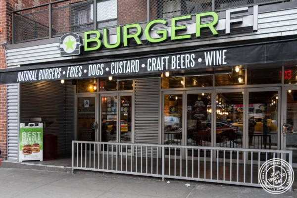 Burger Fi in Yorkville, NYC, New York