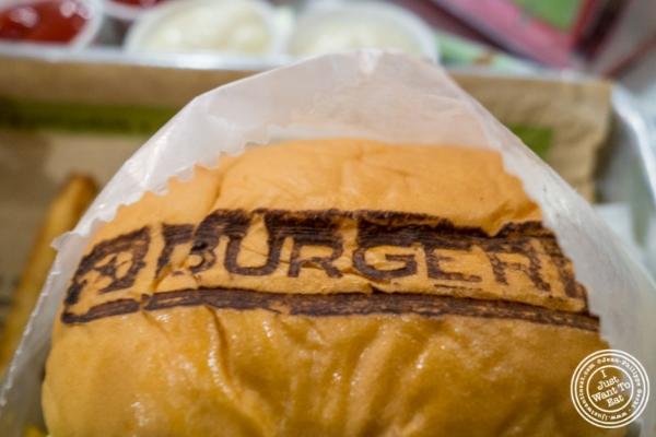 Cheeseburger atBurger Fi in Yorkville, NYC, New York