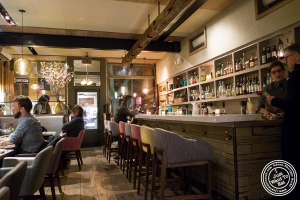 Dining room at Blenheim in NYC, Ne  w York