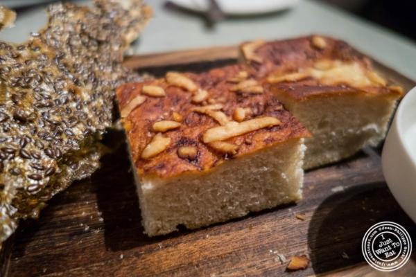 Cheddar and marmite bread at Blenheim in NYC, Ne  w York