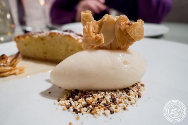 Pear and frangipane tart at Blenheim in NYC, Ne  w York