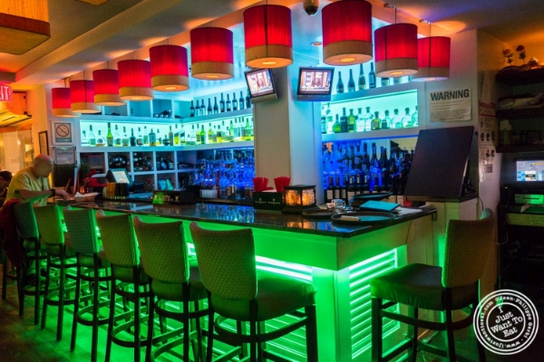 Bar atMint, Indian restaurant in Midtown East, NYC, New York