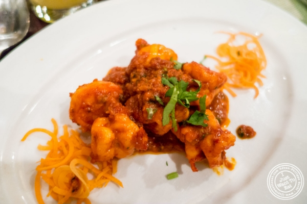 Jhinga Balchao atMint, Indian restaurant in Midtown East, NYC, New York
