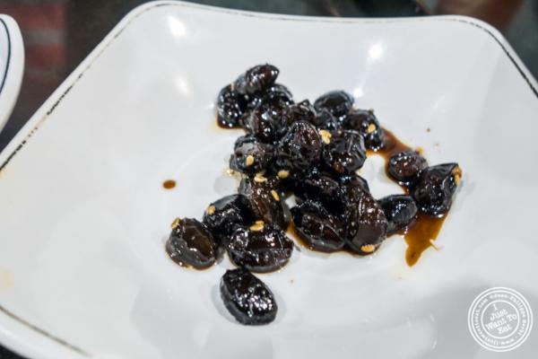Black beans atSeoul Garden in New York, NY
