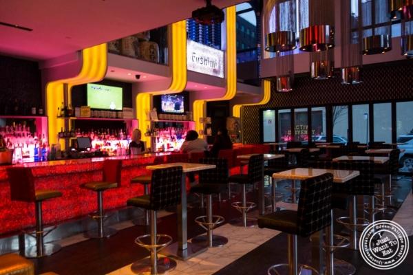 Bar atFushimi in Williamsburg, Brooklyn, NY