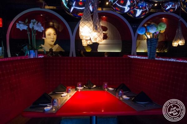 Dining room atFushimi in Williamsburg, Brooklyn, NY